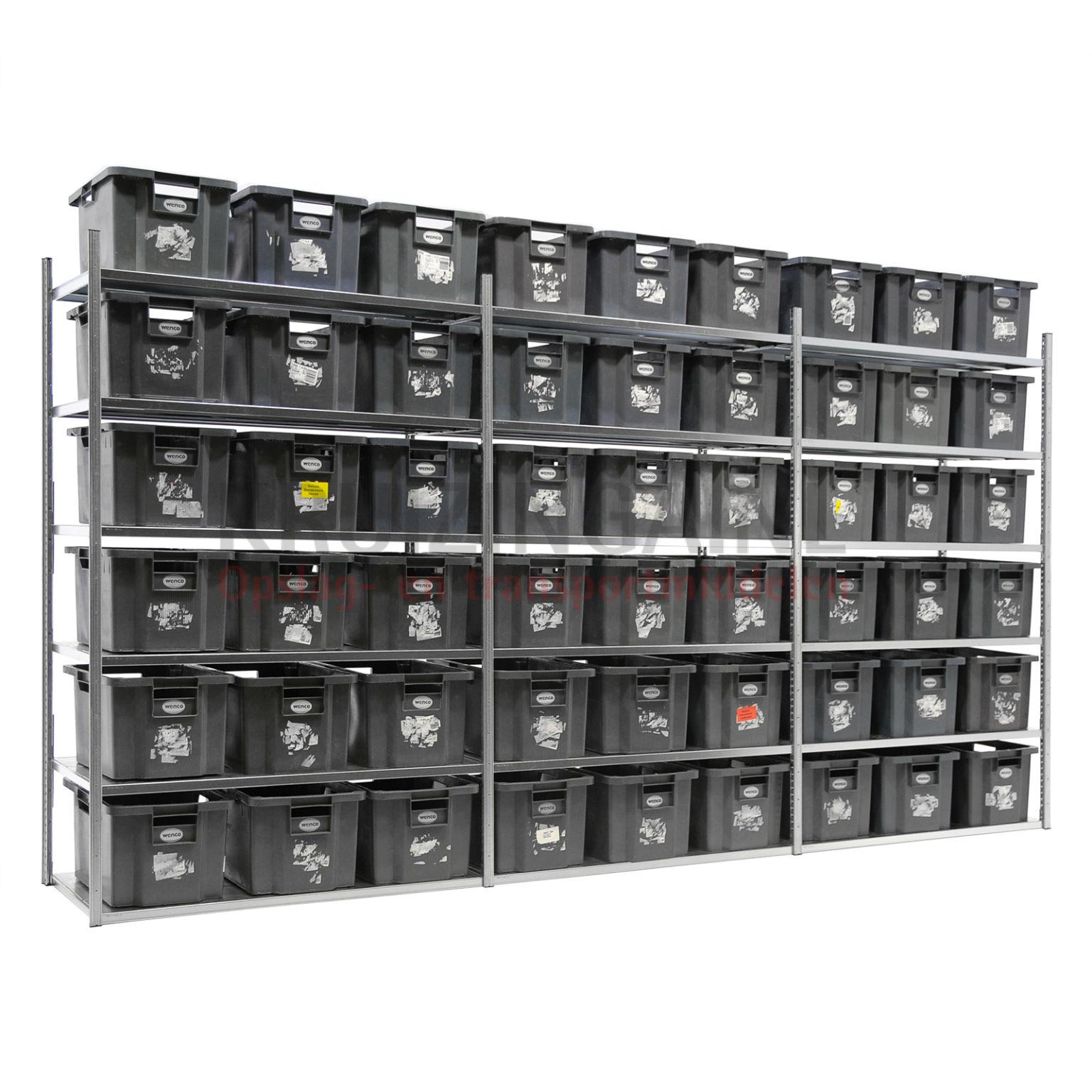 kombination satz regale kombination satz fachbodenregal inkl 54 stapelboxen gebraucht. Black Bedroom Furniture Sets. Home Design Ideas