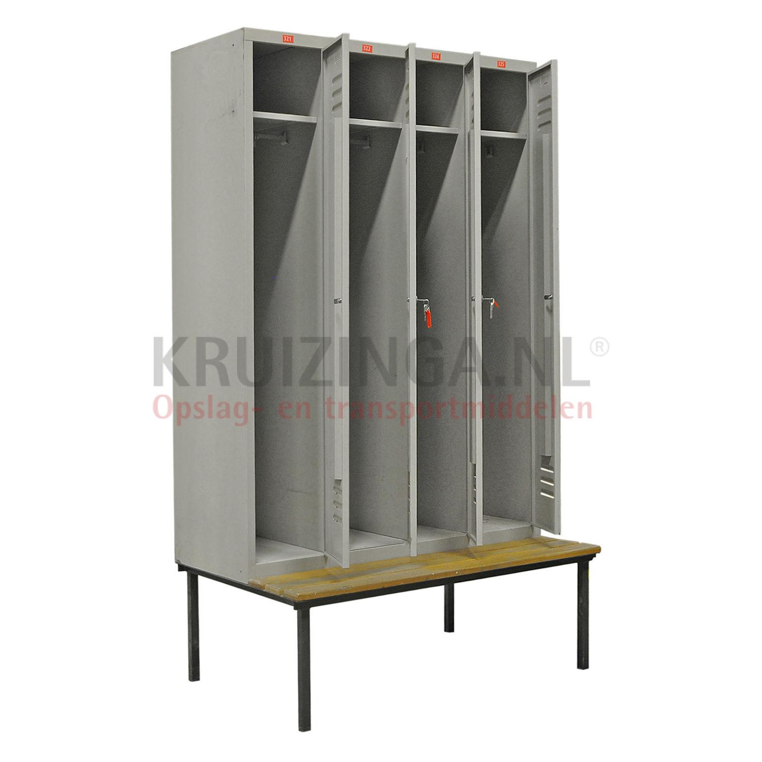 Schrank schlie fachschrank 4 t ren zylinderschloss for Schrank gebraucht