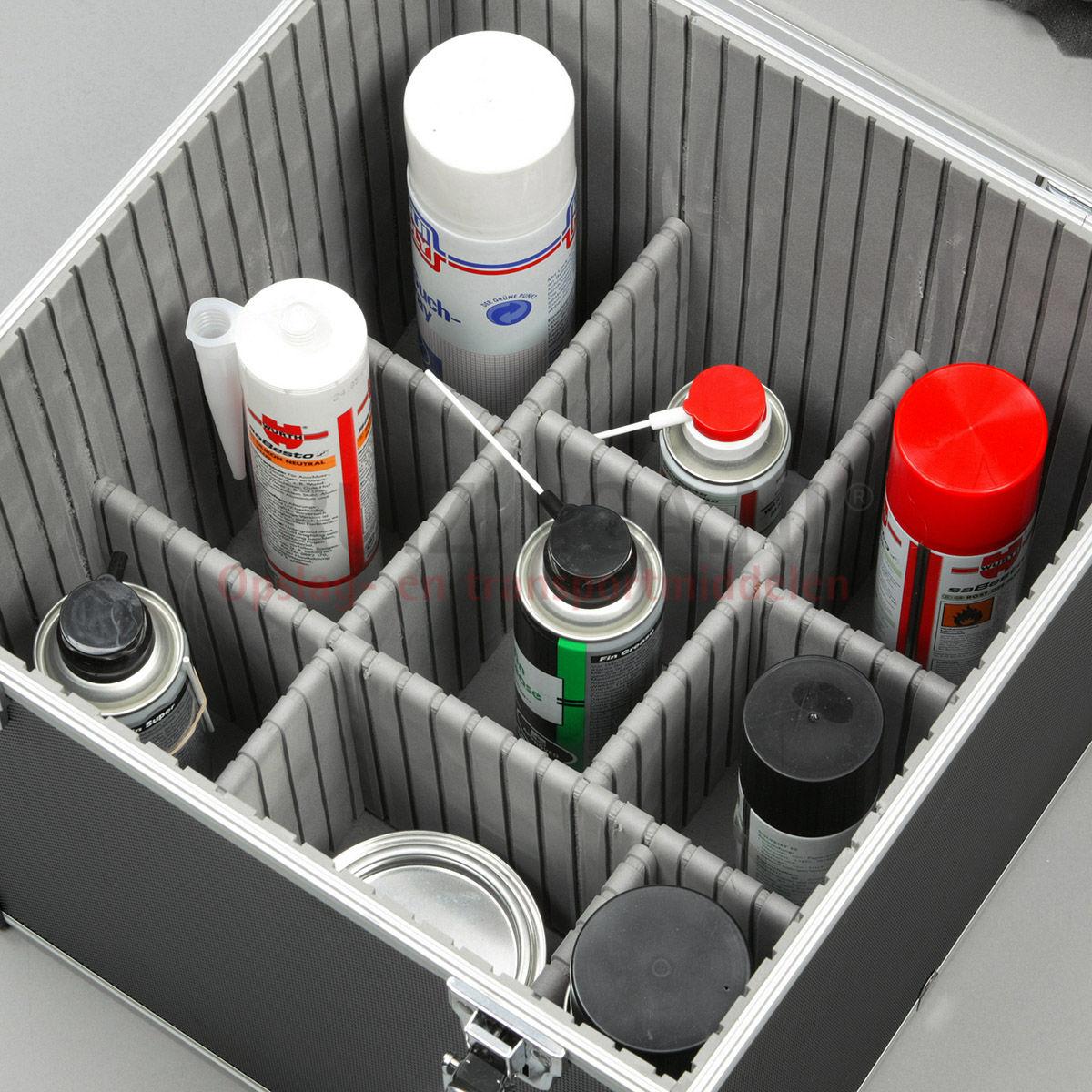 mallette de transport caisse outils lourds avec fermeture rapide double partir de 58 25. Black Bedroom Furniture Sets. Home Design Ideas