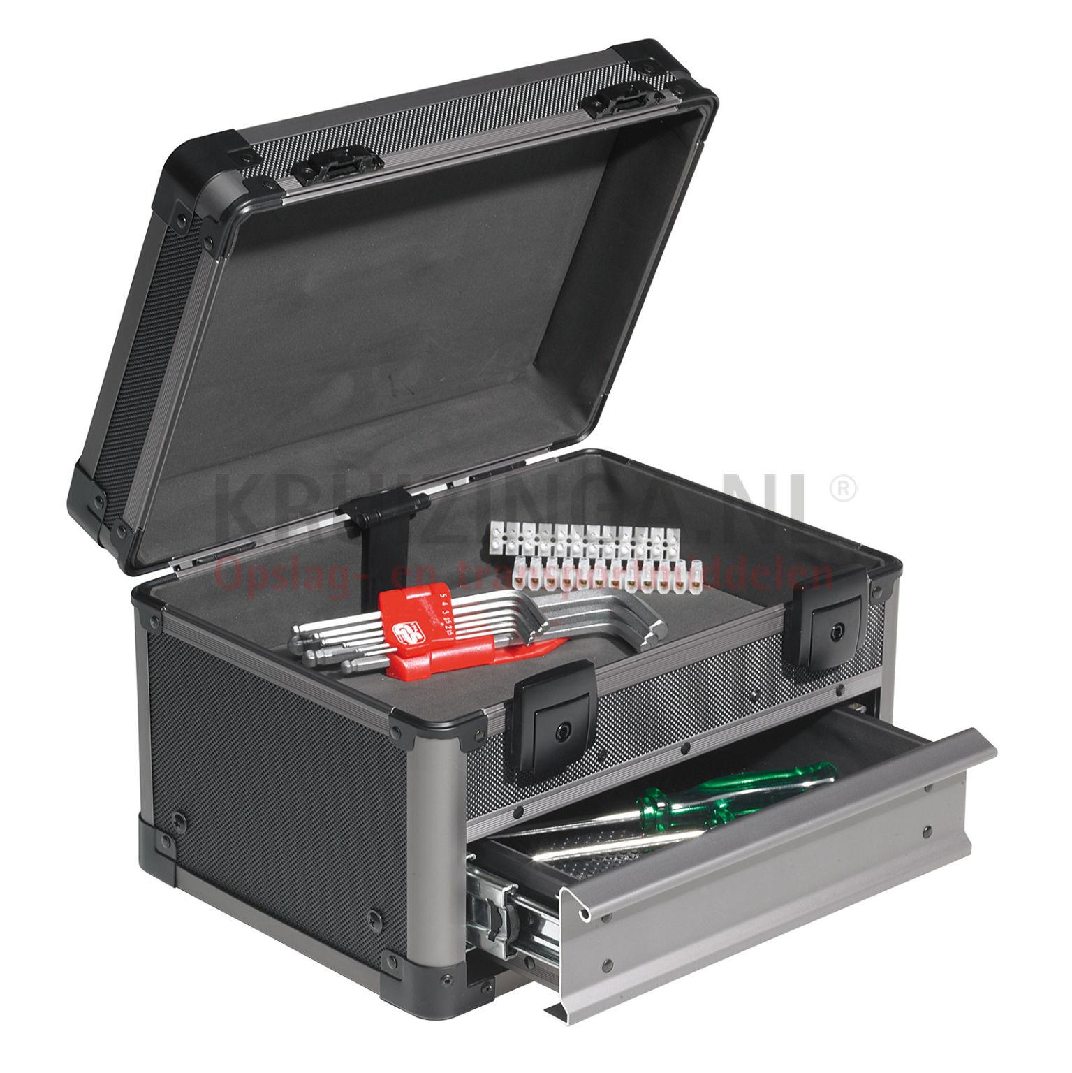 mallette de transport valise technicien avec 1 tiroir partir de 57 25 frais de livraison. Black Bedroom Furniture Sets. Home Design Ideas