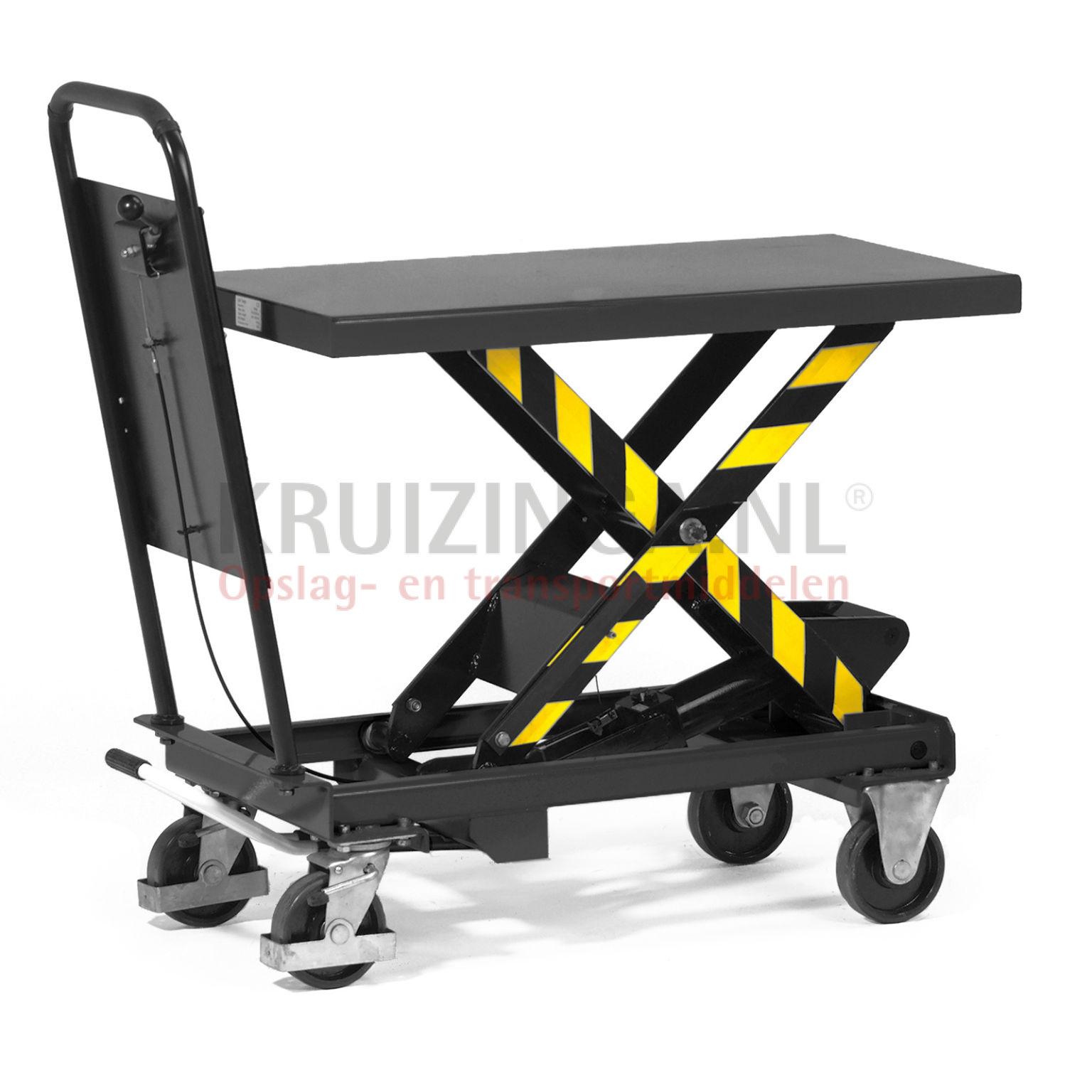 transpalette chariot plate forme l vatrice barre de. Black Bedroom Furniture Sets. Home Design Ideas