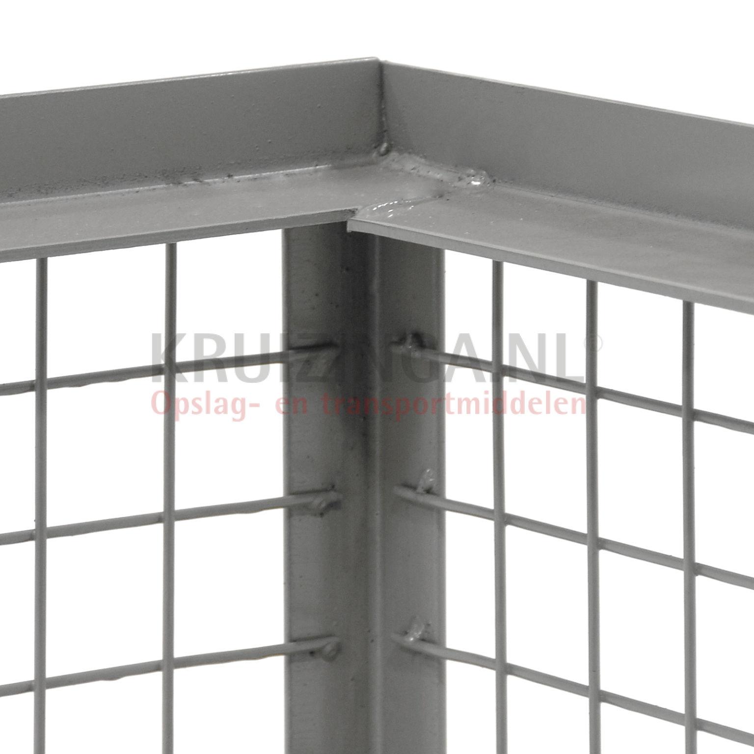gitterbox feste konstruktion 1 lange wand ist klappbar ab 101 50 frei haus. Black Bedroom Furniture Sets. Home Design Ideas