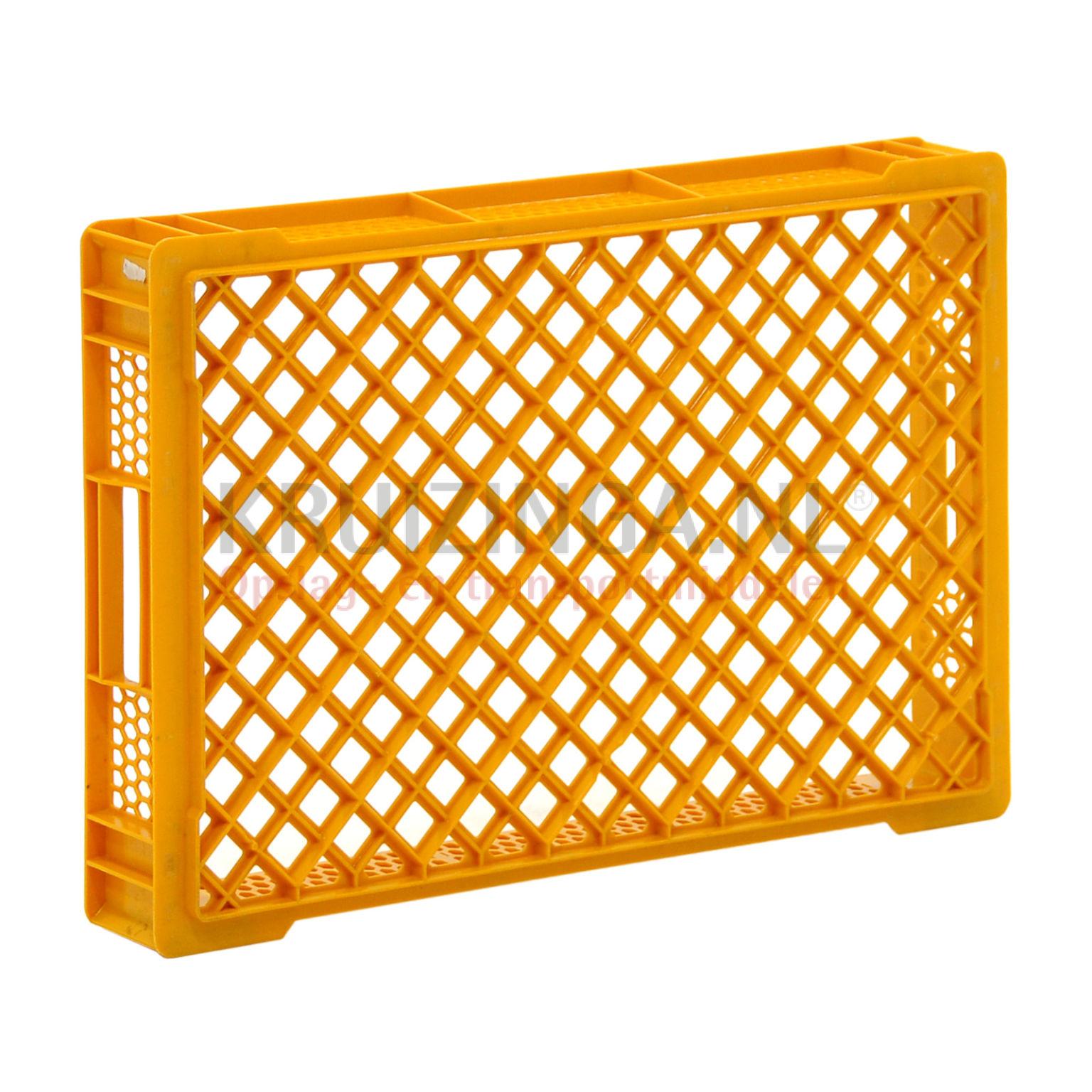 stapelboxen kunststoff stapelbar perforierte w nde und boden gebraucht. Black Bedroom Furniture Sets. Home Design Ideas