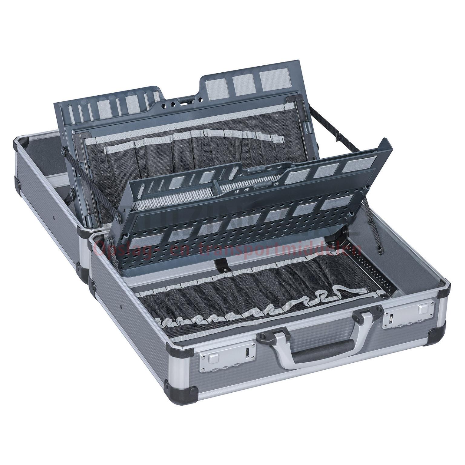 mallette de transport valise technicien avec fermeture combinaison partir de 81 75 frais. Black Bedroom Furniture Sets. Home Design Ideas