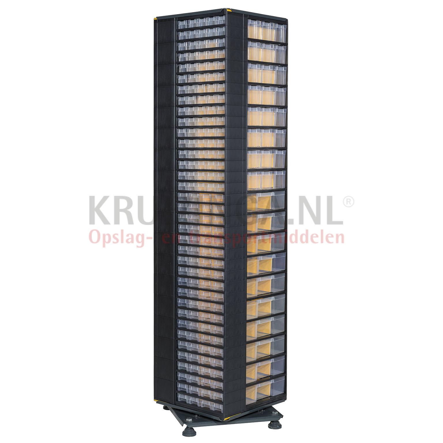 bac a bec en plastique colonne de rangement pivotante quipe de 282 tiroirs 1143 frais de. Black Bedroom Furniture Sets. Home Design Ideas
