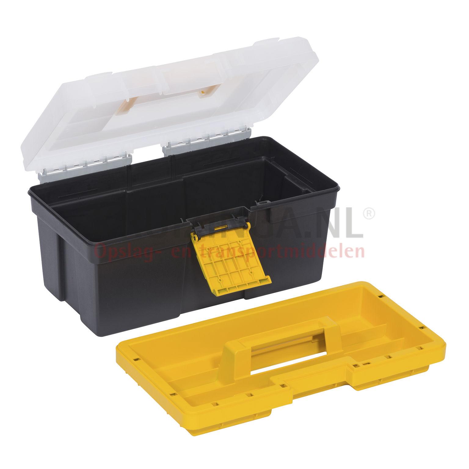 transportkoffer werkzeug box mit doppelte schnellverschlu ab 70 50 frei haus. Black Bedroom Furniture Sets. Home Design Ideas