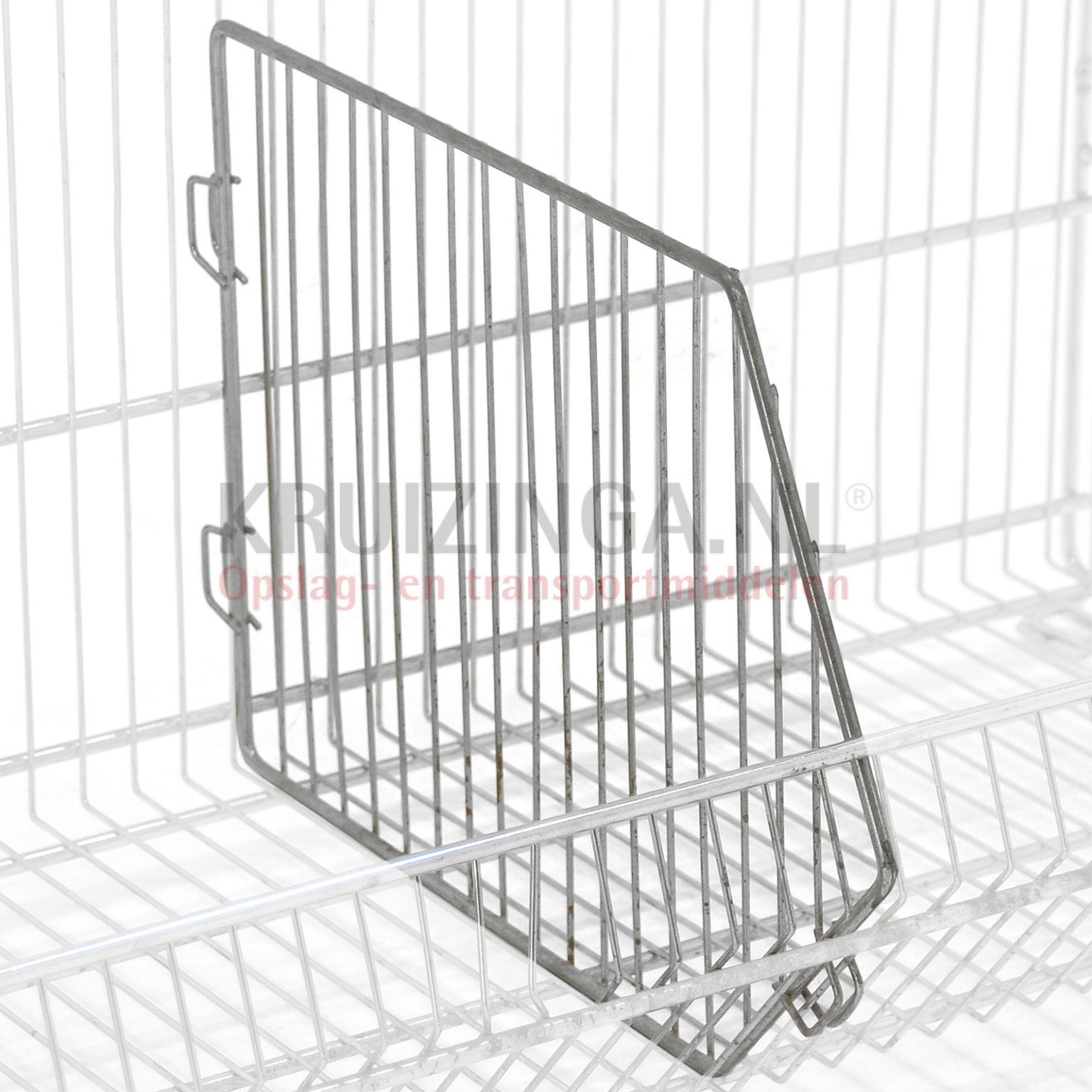 Wire basket accessories separation wall Used From € 58 75 incl