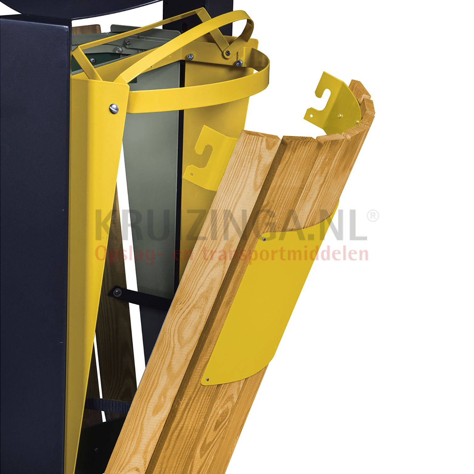 abfalleimer f r au enbereich abfall und reinigung stahl m lltonne auf fu ab 414 frei haus. Black Bedroom Furniture Sets. Home Design Ideas