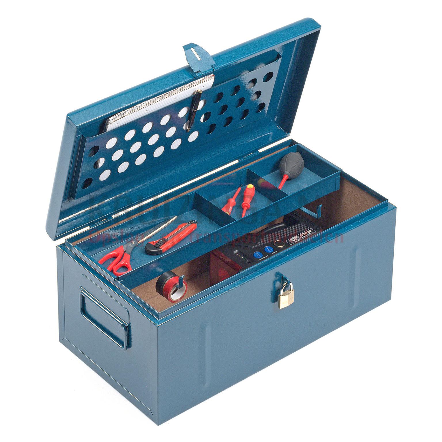 transportkoffer werkzeug box abschlie bar ab 98 50 frei haus. Black Bedroom Furniture Sets. Home Design Ideas