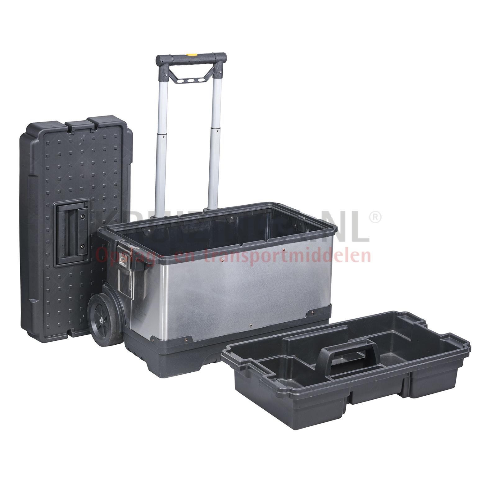 transportkoffer werkzeug box mit doppelte schnellverschlu ab 77 frei haus. Black Bedroom Furniture Sets. Home Design Ideas
