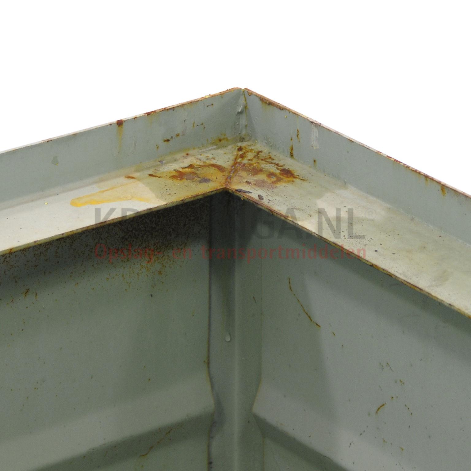bac de rangement acier construction compact empilable occasion. Black Bedroom Furniture Sets. Home Design Ideas
