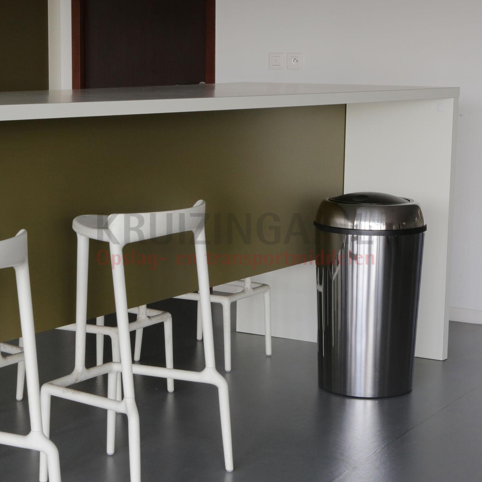 abfallbeh lter abfall und reinigung stahl m lltonne mit deckel ab 141 75 frei haus. Black Bedroom Furniture Sets. Home Design Ideas