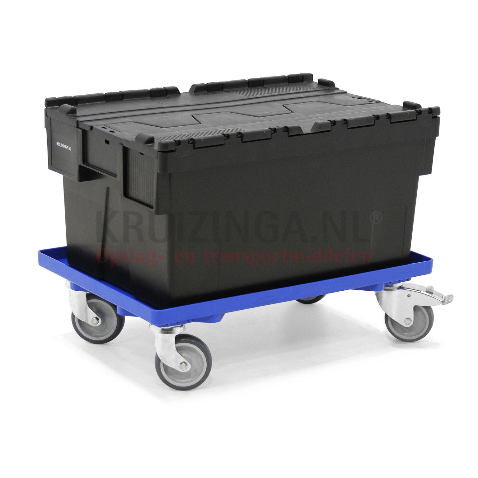 chariot ch ssis plateau roulant 4 roues pivotantes avec 2. Black Bedroom Furniture Sets. Home Design Ideas