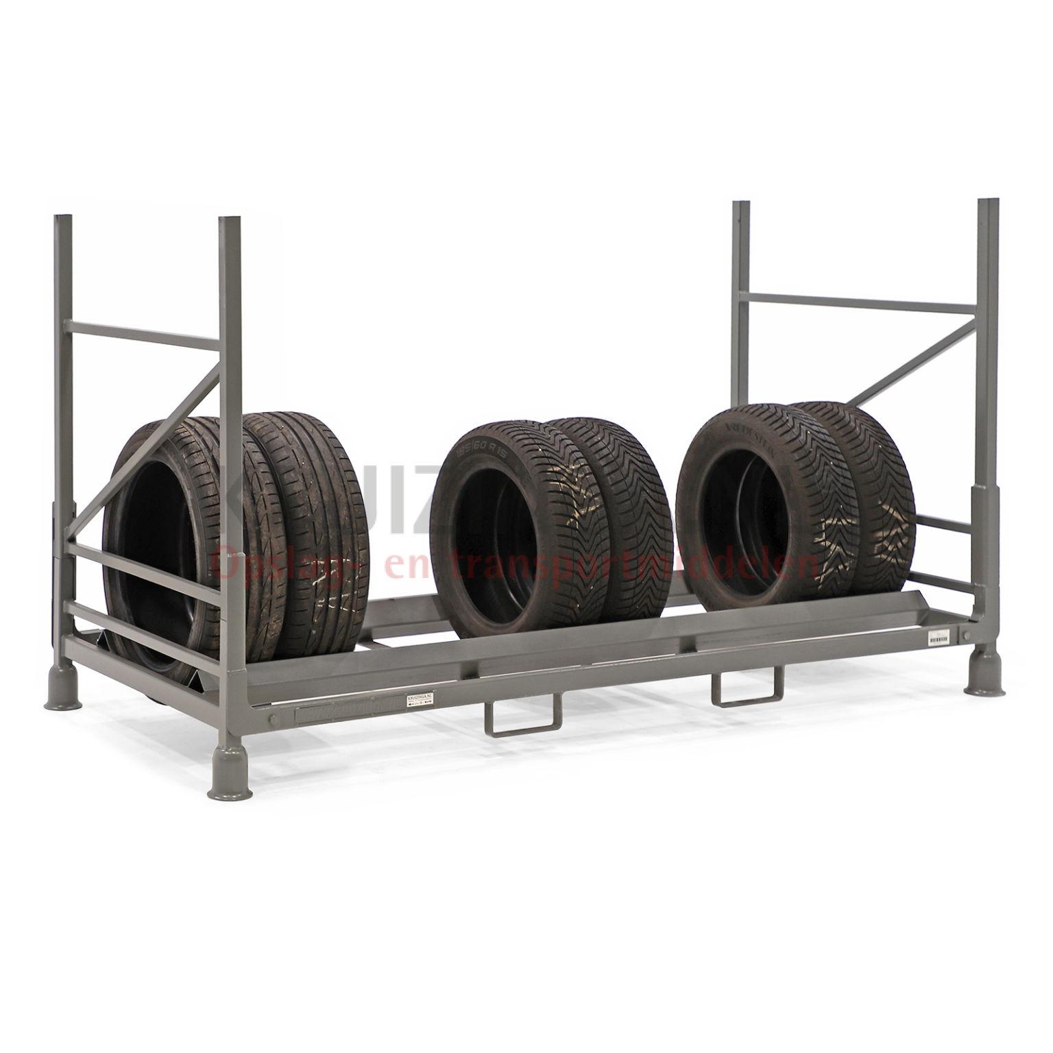 stockage pour pneus gerbable et pliable charger verticalement partir de 232 75 frais de. Black Bedroom Furniture Sets. Home Design Ideas