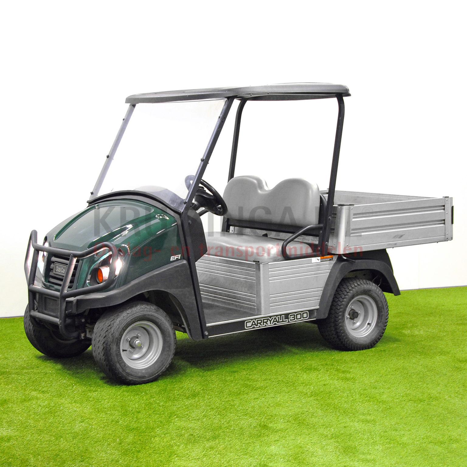 golfwagen club car carryall 300 mit ladefl che benzin. Black Bedroom Furniture Sets. Home Design Ideas