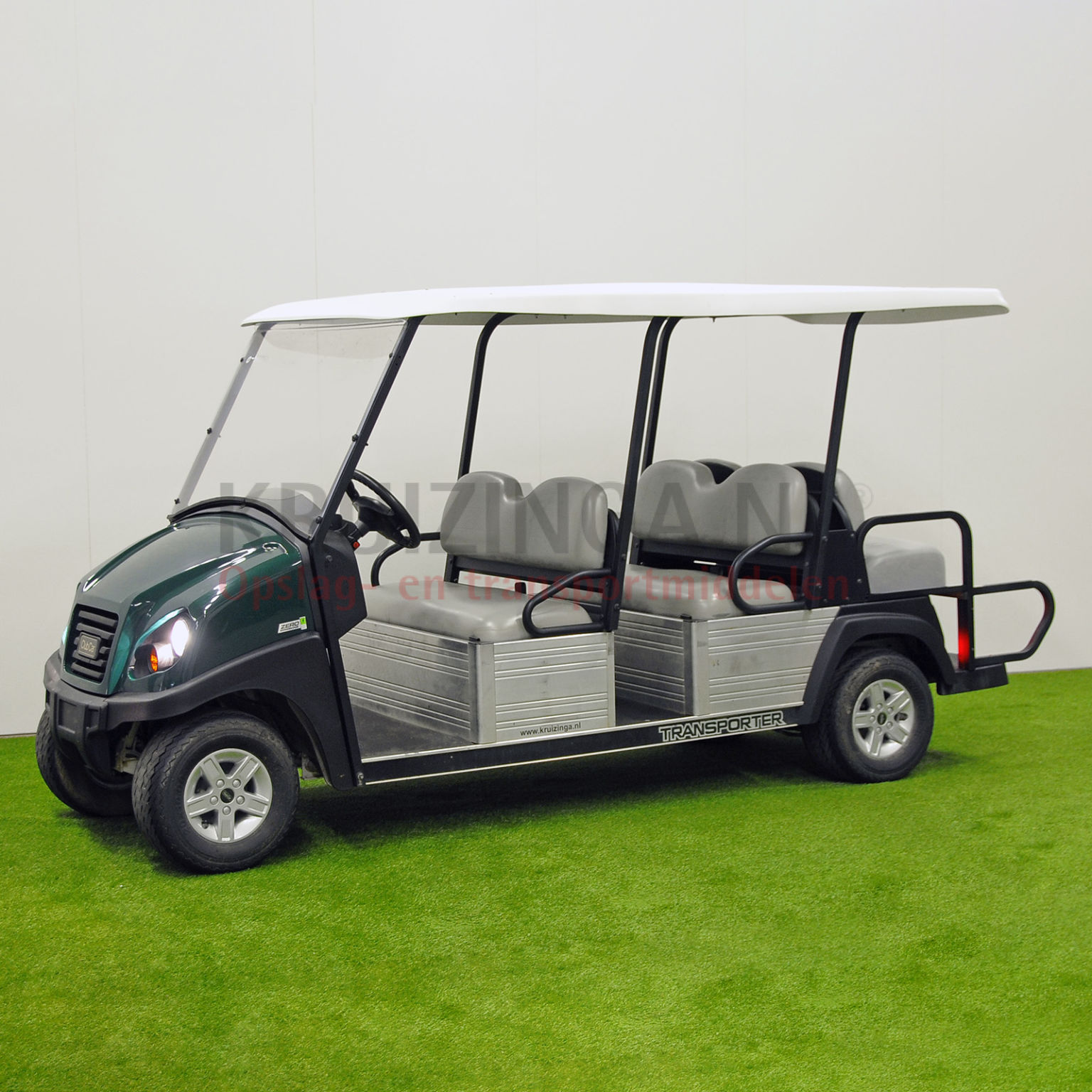 golfwagen club car transporter f r 6 personen elektrisch. Black Bedroom Furniture Sets. Home Design Ideas