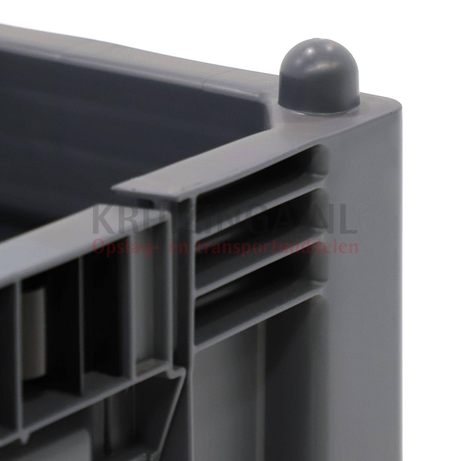 bac de rangement plastique caisse palette 1 clapet en 1 c t longue partir de 189 25 frais. Black Bedroom Furniture Sets. Home Design Ideas