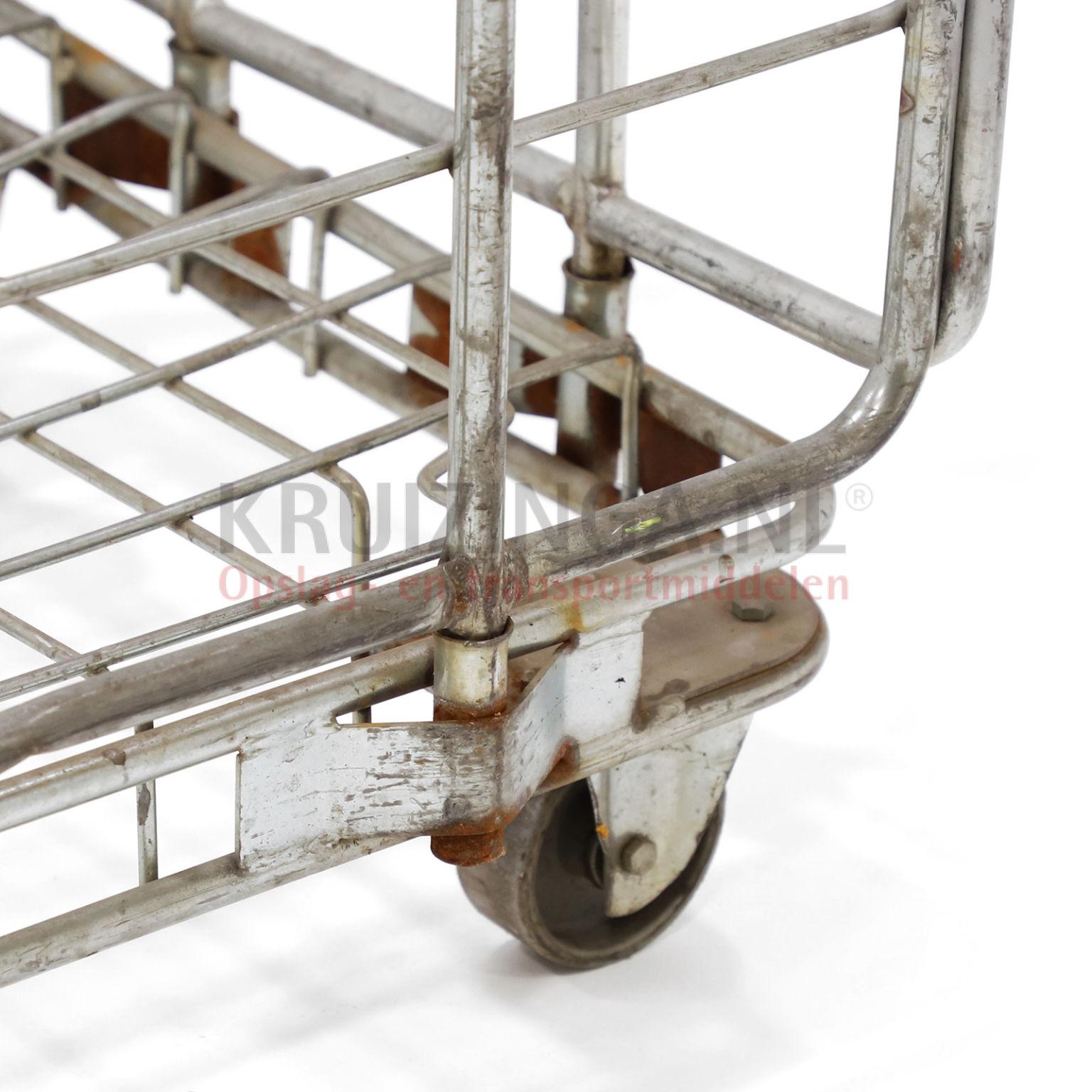 Roll conteneur 3 parois construction robuste fixe for Conteneur construction