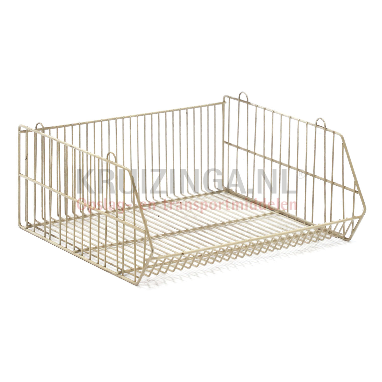 Wire basket without wall stackable Used From € 21 25 incl delivery