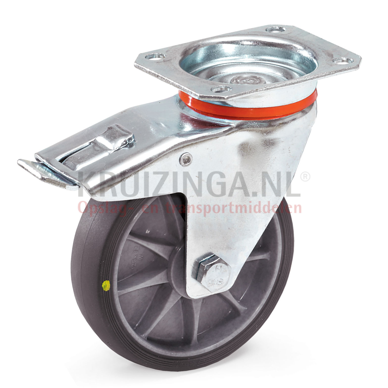 rollen und r der lenkrolle mit feststeller 125 mm ab 22 frei haus. Black Bedroom Furniture Sets. Home Design Ideas
