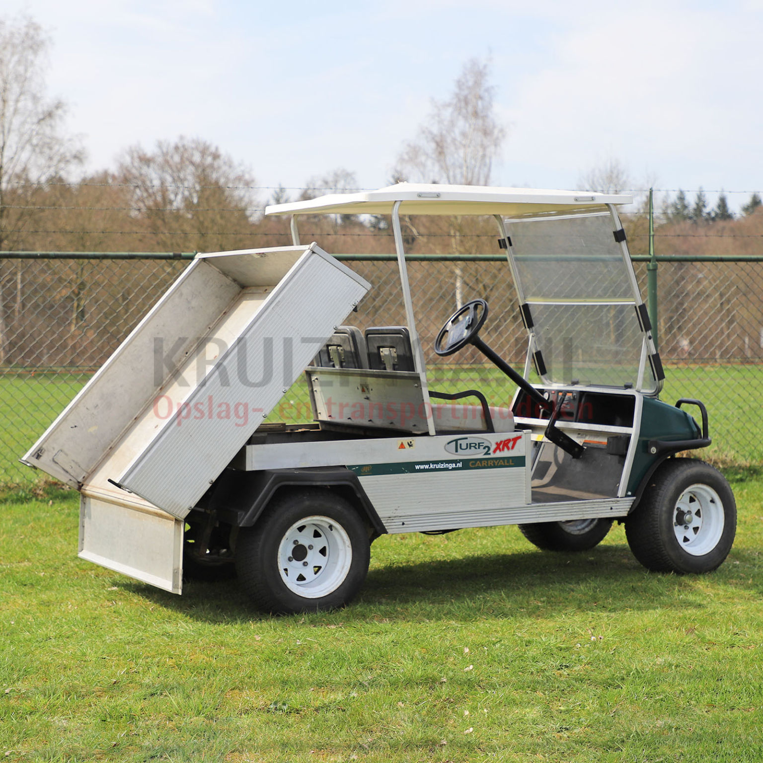 golfwagen club car carryall xrt mit ladefl che benzin. Black Bedroom Furniture Sets. Home Design Ideas