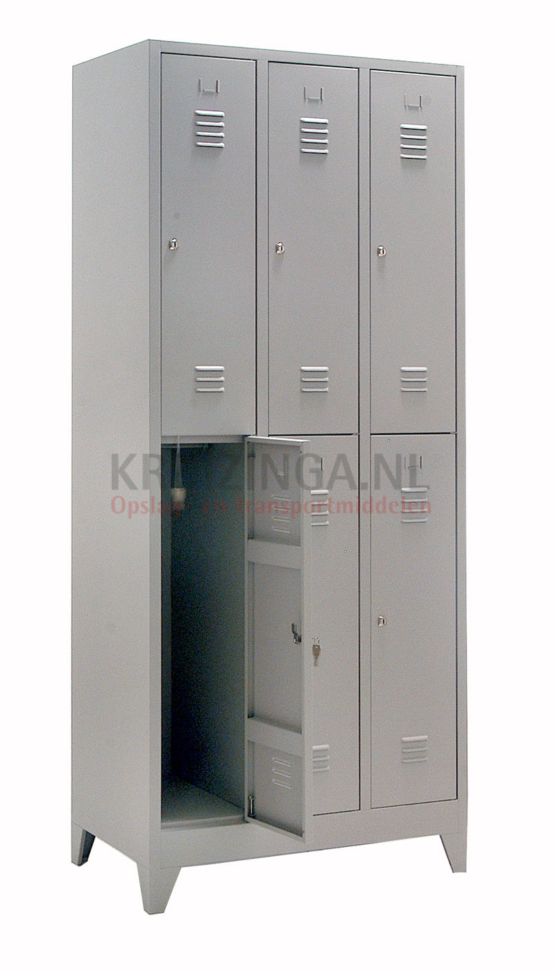 armoire armoire vestiaire 6 portes. Black Bedroom Furniture Sets. Home Design Ideas