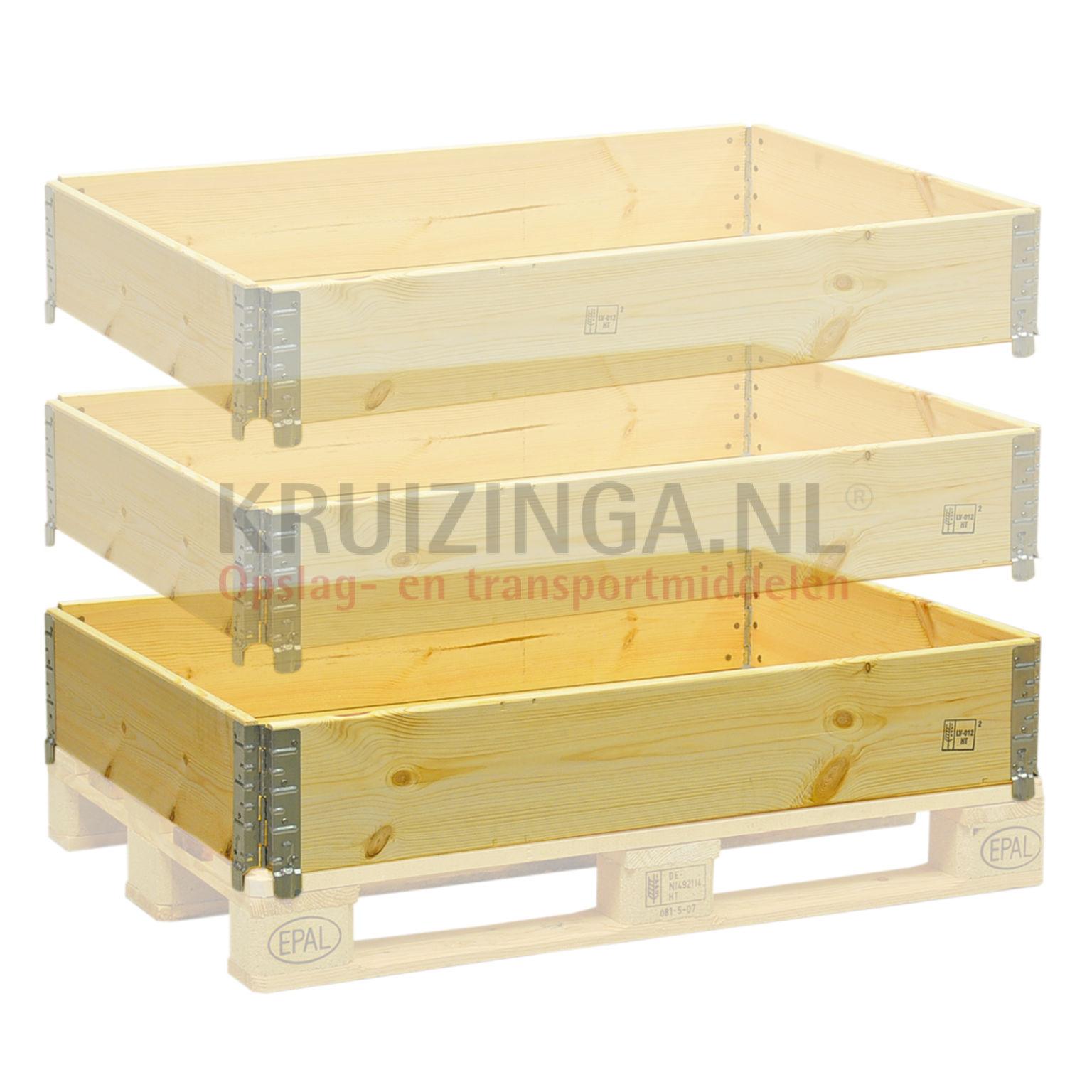 Rehausse palette construction articul empilable 4 x for Construction palette