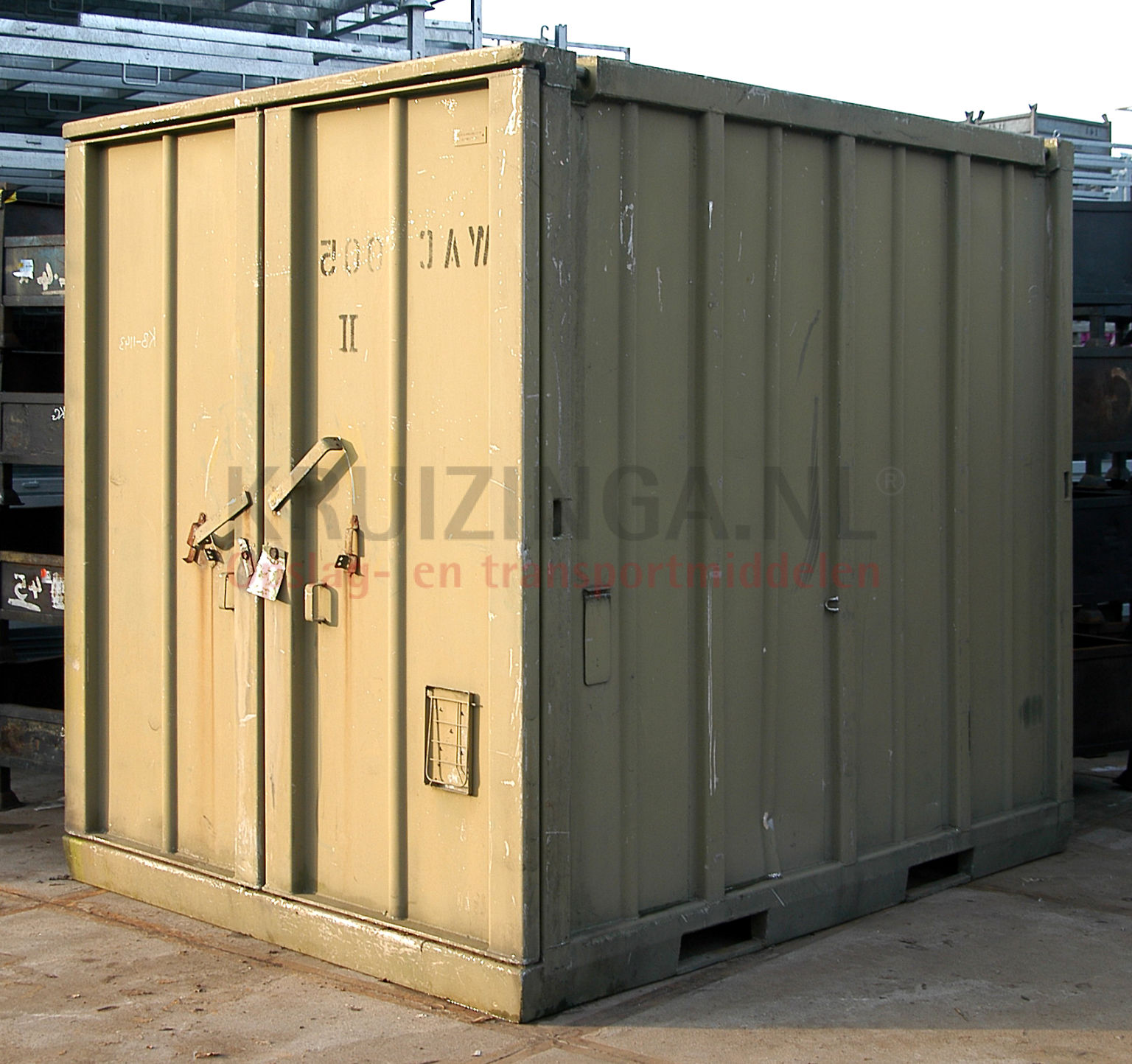 container materialcontainer 10 fu gebraucht 1450. Black Bedroom Furniture Sets. Home Design Ideas