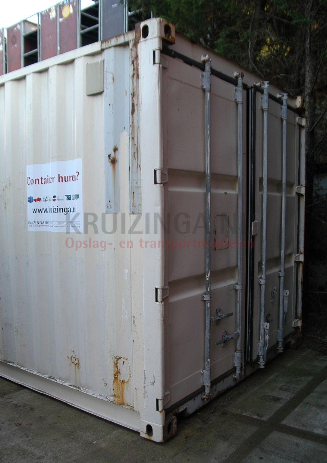 container materialcontainer 40 fu a qualit t gebraucht 1500. Black Bedroom Furniture Sets. Home Design Ideas