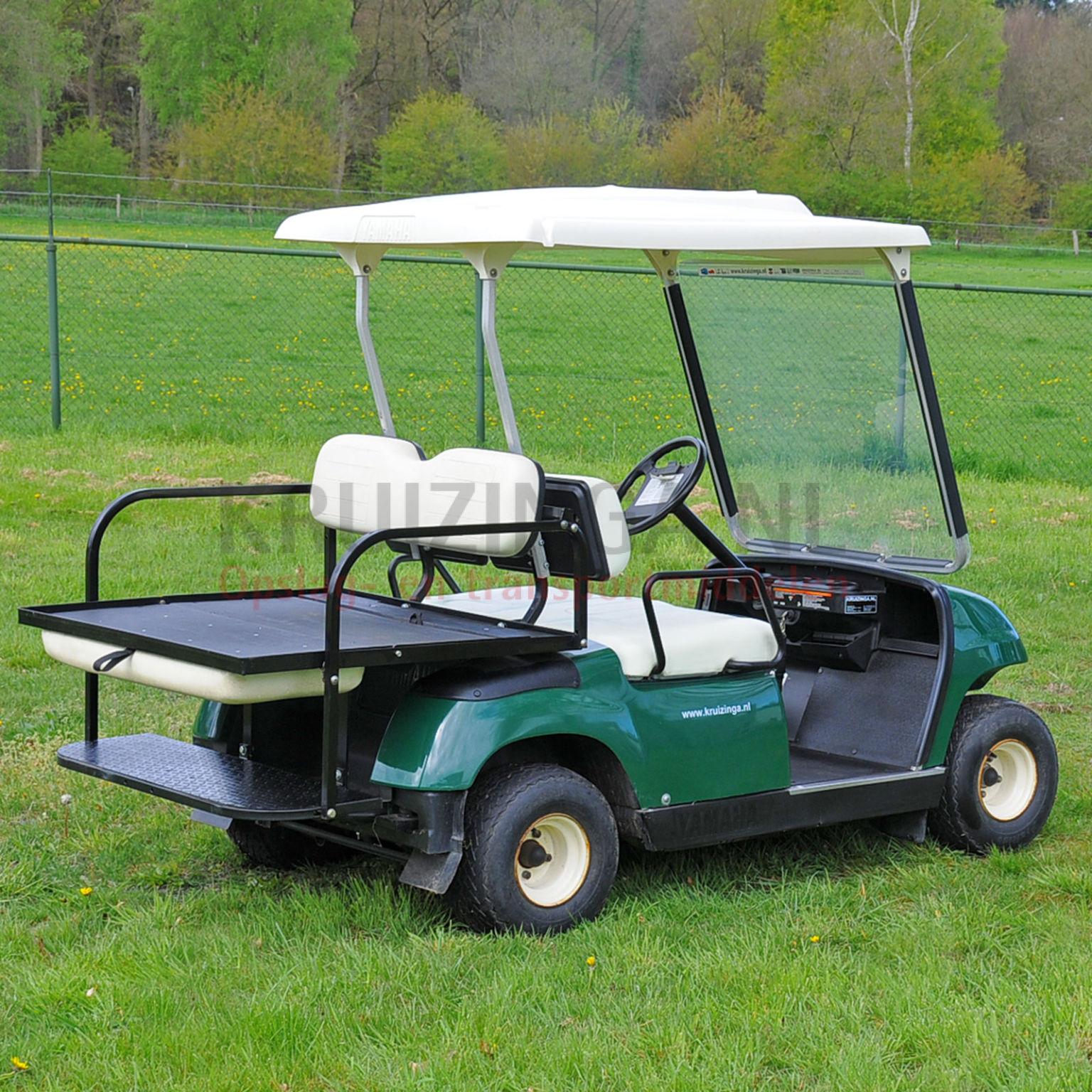 golfwagen yamaha f r 4 personen elektrisch gebraucht. Black Bedroom Furniture Sets. Home Design Ideas