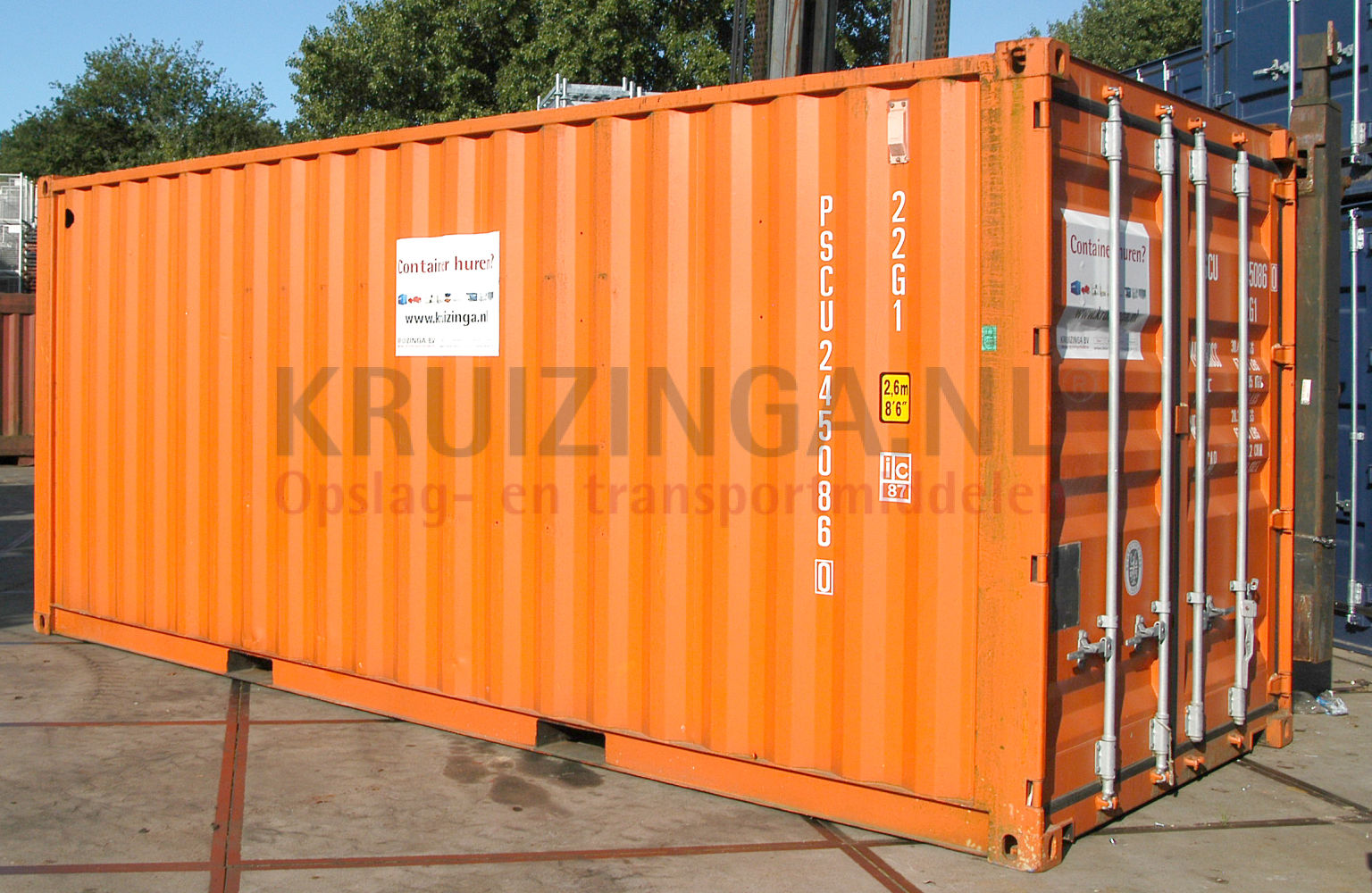 container materialcontainer 20 fu gebraucht 1200. Black Bedroom Furniture Sets. Home Design Ideas