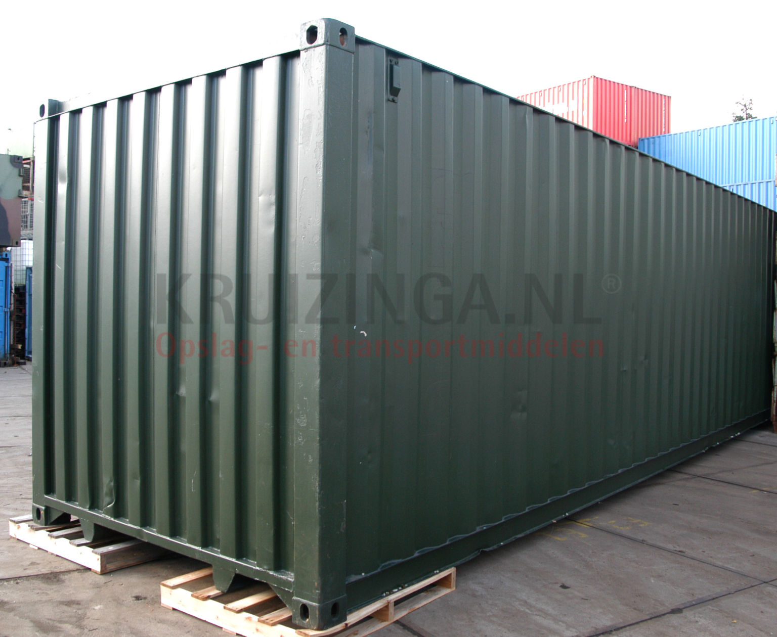 container materialcontainer 40 fu gebraucht 1250. Black Bedroom Furniture Sets. Home Design Ideas