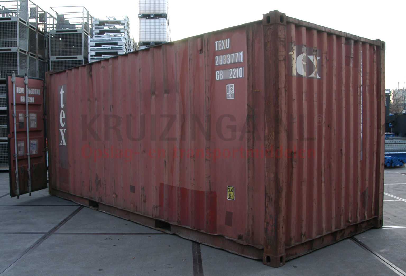 container materialcontainer 20 fu gebraucht 650. Black Bedroom Furniture Sets. Home Design Ideas