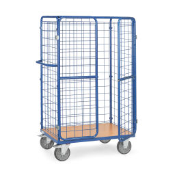 Roll cage package trolley front walls , 1 long side + wing