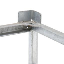 f/ür 1 Stahlflasche bis /Ø 285 mm EUROKRAFT Stahl- // Gasflaschenkarre Vollgummireifen Gasflaschenhandling Gasflaschenkarre Stahlflaschenhandling Stahlflaschenkarre mit St/ützrad